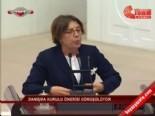 TBMM'de Ayşenur Bahçekapılı ile Oktay Vural'ın tartışması