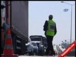 Trafik Polisine Rüşvet Teklif Eden Yandı