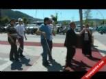 Fethiye Dispanser Sokak'ta Görme Engelliler, Esnafı Protesto Etti