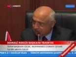 somali - Somali Meclis Başkanı TBMM'de