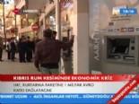 Kıbrıs Rum Kesimi'nde ekonomik kriz