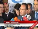 Bekir Bozdağ'dan 1 Mayıs ve Yeni Anayasa çalışmaları açıklaması