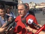 Taksim'e Gelen Hak-iş Üyelerine CHP'li Çelebi Fırça Attı
