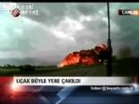 kargo ucagi - Uçak böyle yere çakıldı