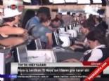 turk hava yollari - THY'de grev kararı