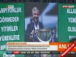 Bursaspor Taraftarı Şampiyon Başkan İbrahim Yazıcı'yı 'Tekbir'lerle Uğurladı