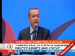 Başbakan Erdoğan'dan 'Taksim Gezi Parkı' Açıklaması