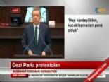 Başbakan Erdoğan'ın Gezi Parkı açıklaması -1