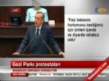 Başbakan: Gezi Parkı, AVM'ye uygun değil