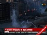Polis Gezi Parkı'na Girdi (Taksim Gezi Parkı Son Durum)