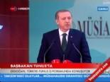 Başbakan Tayyip Erdoğan Türkiye-Tunus İş Forumunda Konuştu