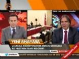 AK Partili Mazhar Bağlı: Gerekirse 48 madde için de referanduma gideriz