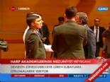 Abdullah Gül, Harp Adakemileri Mezuniyet Töreninde Ödül Verdi