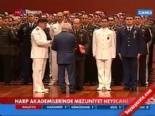 Cemil Çiçek,Harp Adakemileri Mezuniyet Töreninde Ödül Verdi
