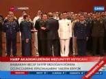 Başbakan Erdoğan, Harp Adakemileri Mezuniyet Töreninde Ödül Verdi