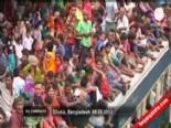 Bangladeş'te Bayram Yoğunluğu Şaşırttı