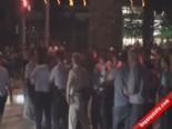 Asker Uğurlamasında Polis İle Gençler Birbirine Girdi