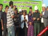 BDP'li Kışanak, Otogarın Temelini 10. Yıl Marşı İle Attı