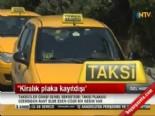Taksi Plaka Bedeli Ve Kiralama Ücreti