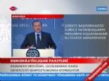 Başbakan Erdoğan'dan Biber Gazı, Polis Ve Ağaç Sökülmesi Açıklaması