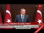 Başbakan Erdoğan Demokratikleşme Paketi'ni Açıkladı (1)