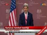 John Kerry ile William Hague ortak basın toplantısı düzenledi