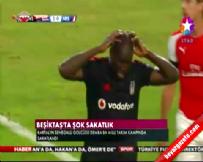 Beşiktaş'ın Golcü Oyuncusu Demba Ba, Antrenmanda Sakatlandı
