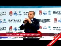 Cumhurbaşkanı Erdoğan'ın Bayburt Konuşması