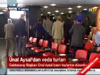 Ünal Aysal'ın basın toplantısına ara verdiren olay