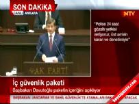 Başbakan Davutoğlu güvenlik paketini açıkladı (2)