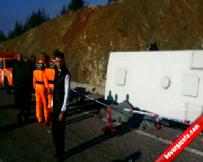 Isparta'da takla atan minibüs faciaya sebep oldu:14 ölü, 24 yaralı