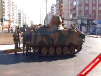 Diyarbakır'a 5 Tabur Asker Sevk Edildi (Sokağa Çıkma Yasağı)