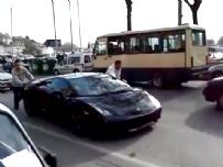 Benzini Biten Lamborghini İstanbul Trafiğini Birbirine Kattı!