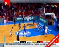 Galatasaray Liv Hospital Anadolu Efes: 77-76 Basketbol Maç Özeti (9 Kasım 2014)