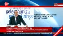 Cumhurbaşkanı Erdoğan Dini Liderler Zirvesi'nde konuştu