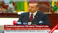 Cumhurbaşkanı Erdoğan Afrika zirvesinde konuştu