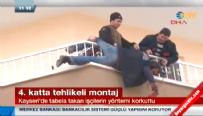 Kayseri'de şok: Yurdum insanı yurdum montajcısı