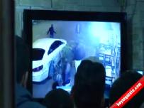 Şişli'de silahlı saldırı kamerada