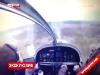 Uçağın çakılma anı kokpit kamerasında