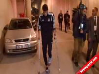 Beşiktaş Partizan maçında Mustafa Pektemek sakatlandı