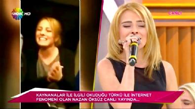 Nazan Öksüz'ün Kaynana Şarkısı Semra Kaynanayı Ağlattı! / Her Şey Dahil