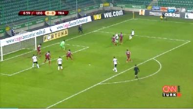 uefa avrupa ligi - Legia Varşova Trabzonspor: 2-0 Maç Özeti ve Golleri (11 Aralık 2014)