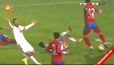 Balçova Yaşamspor 1-2 Galatasaray (GOL: Hamit Altıntop)