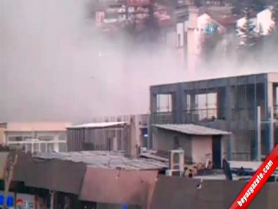 6 Katlı Bina Yıkıldı 1 Ölü (O Anlar Kamerada)