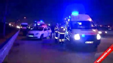 Ankara İstanbul Yolu Üzerinde Aynı Yerde 4 Kaza: 5 Yaralı