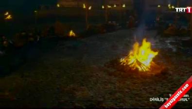 Diriliş-Ertuğrul'daki and sahnesi izleyenleri mest etti