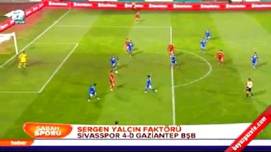 Sivasspor Gaziantep B.Belediyespor: 4-0 Maç Özeti ve Golleri (Türkiye Kupası 24 Aralık 2014)
