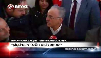 Murat Karayalçın: Özür dilerim