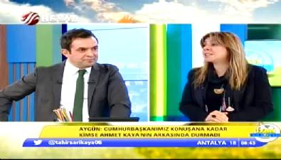 Uyan Türkiyem - Kadriye Esra Aygün: 'Kadir İnanır gitsin keçi reklamlarında oynasın'