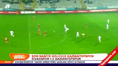 Sivasspor Gaziantepspor: 1-2 Türkiye Kupası Maç Özeti (3 Aralık 2014)